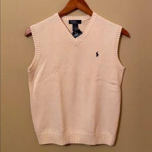 Boy's Ralph Lauren Sweater Vest. Size Medium 12-14